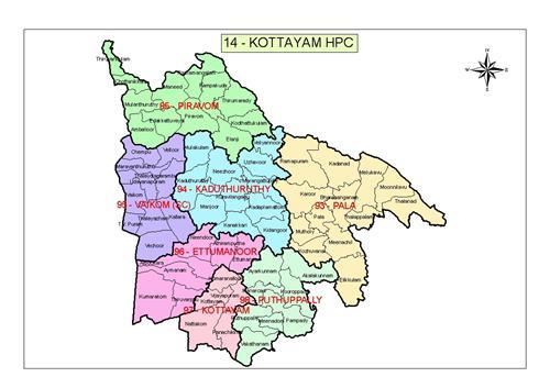 Geography of Kottayam
