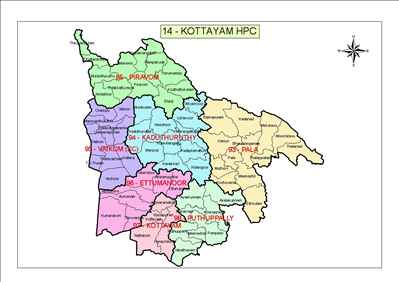 Geography of Kottayam
