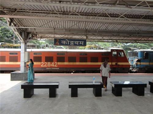 Facilities Kottayam Railway Station