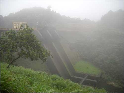 Kakkayam Dam in Kozhikode