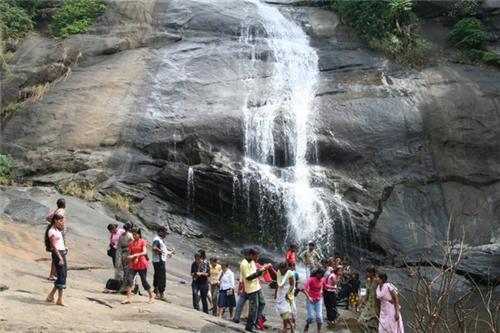 Thusharagiri Falls in Kozhikode