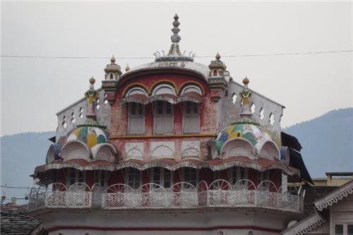 Wonderful View of Sultanpur Palace in Kullu