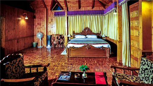 Rooms at Himalayan Village Resort