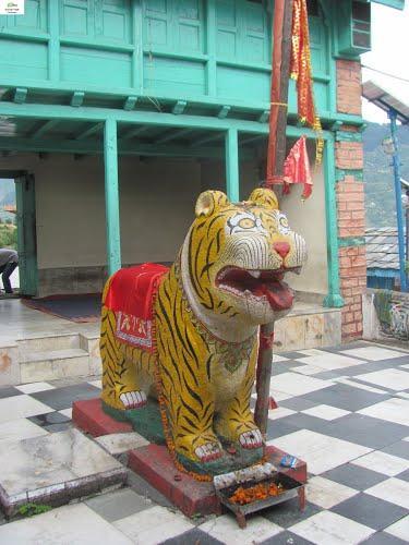 Inside the Jagannathi Devi Temple Kullu