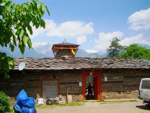 Krishna Temple in Thava
