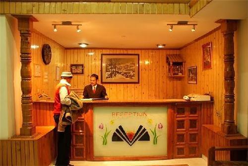 Reception of Himalayan Hamlet Resort