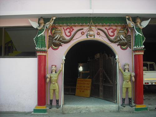 Entrance of Mahadevi Tirth Mata Temple Kullu