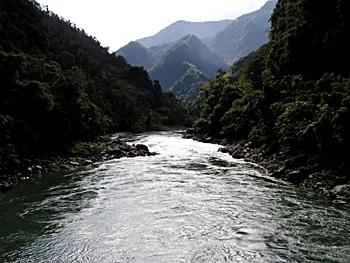 Subansiri river
