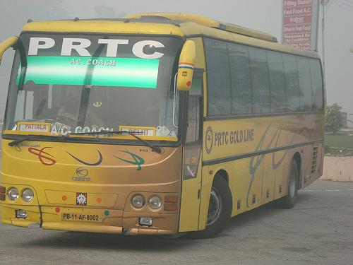 Buses from Ludhiana