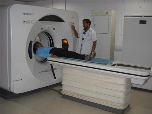 Well Equipped Diagnostic Center at Lions General Hospital in Mehsana