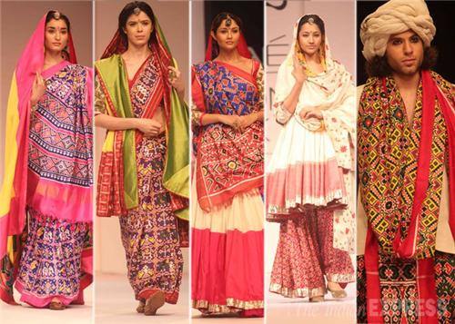 Traditional costumes and attires of Mehsana