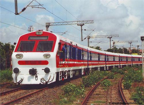Major Trains that pass through Mehsana Railway station