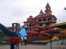 Rides at Shanku's Water Park in Mehsana