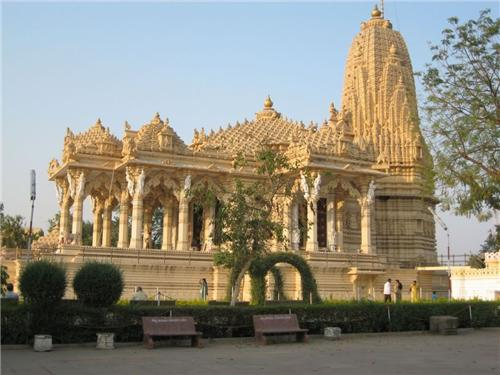Shrine of Simandhar Swami Temple in Mehsana