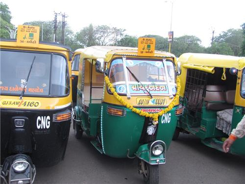 Local Transport facilities in Mehsana