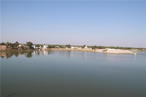 Famous lake of Vadnagar in Mehsana