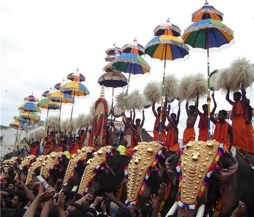 Kottakkal pooram festival in Malappuram