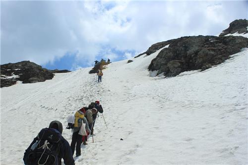 Steep Trails of Friendship Peak in Manali