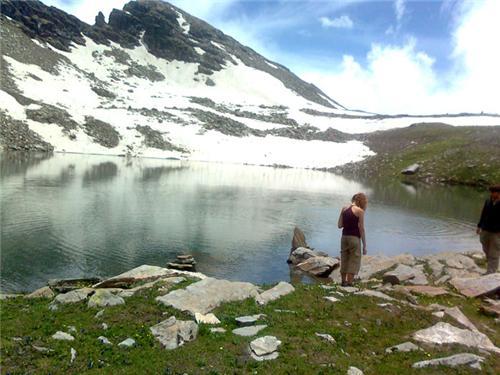 At the Bhrigu Lake