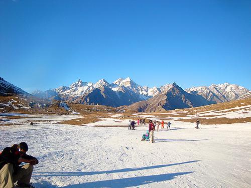 Mountains around Rohtang Pass
