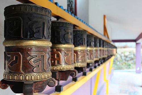 Inside the Tibetan Monastery