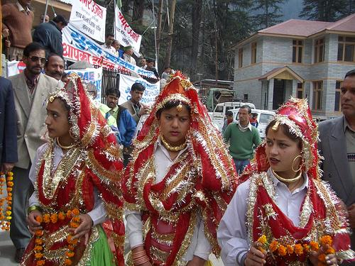 Winter Carnival in Manali