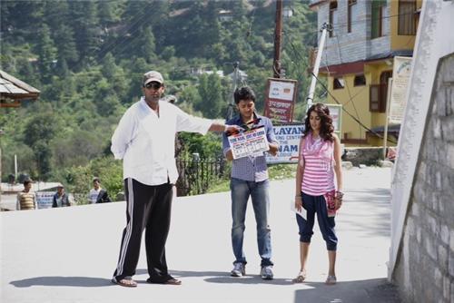 Shooting of Tere Naal Love Ho Gaya