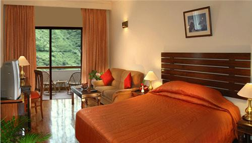 Accommodation at \Manuallaya Spa Resort Manali