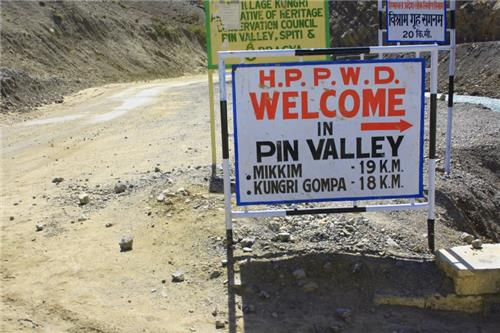 How to reach Pin Valley National Park from Manali