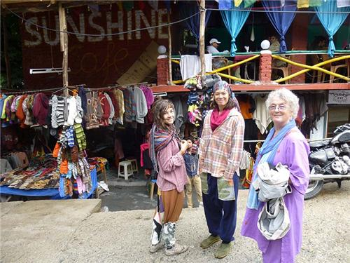 Street Shops in Old Manali