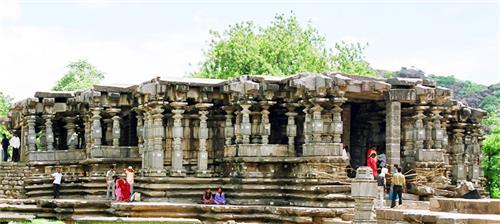 Thousand Pillar Jain Temple in Mangalore