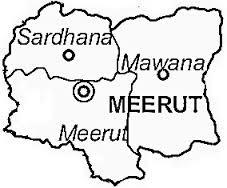 Topography of Meerut