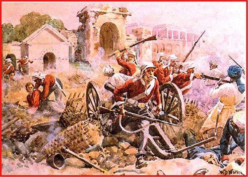 Uprising in Meerut