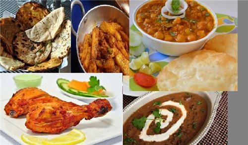 Food in Moga