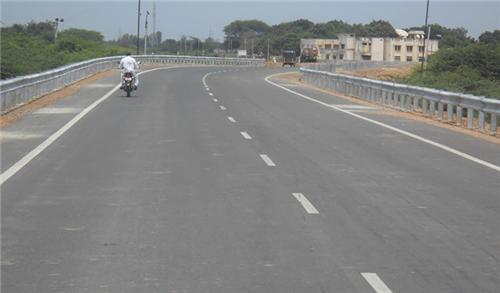 Roadway in Morbi