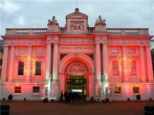 National Maritime Museum Mumbai at Night-Credit Google