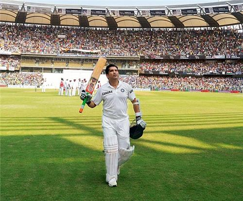 Sachin at Wankhede