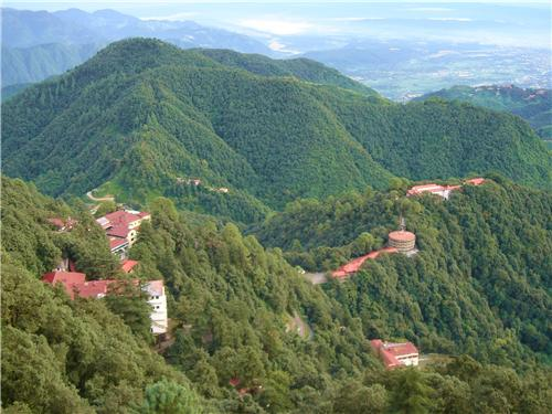 Geographical Location Mussoorie