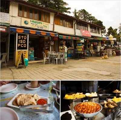 Food Corners in Mussoorie