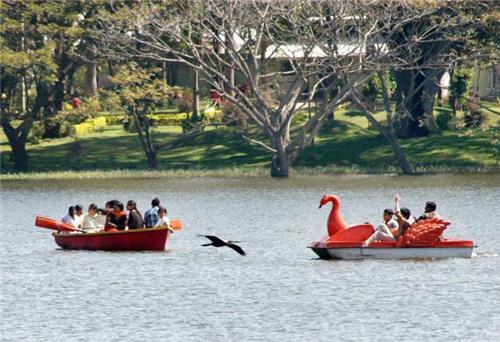 Boating in Karanji Lake