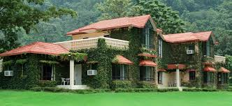 Forest Lodge in Jim Corbett National Park