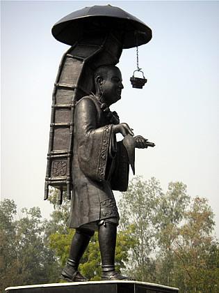 Hiuen Tsang Statue