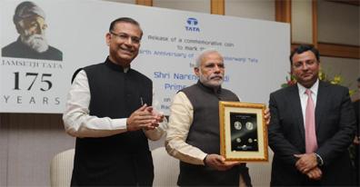 Commemorative coin release of Jamsetji Nusserwanji Tata