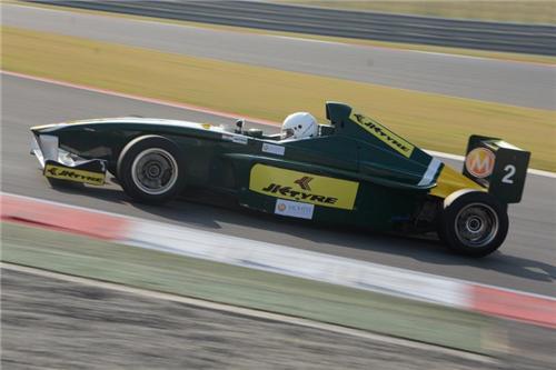 Race in Buddh International Circuit