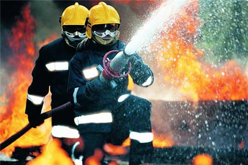 Fire Fighters in Patan