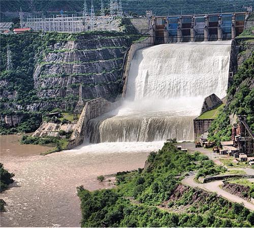 Ranjit Sagar Dam Pathankot