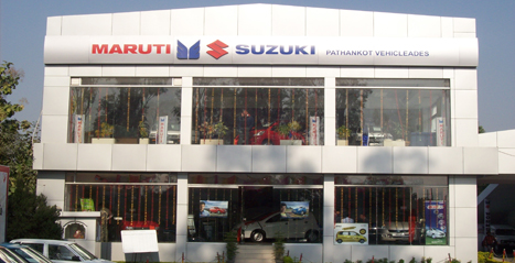 Automobile Showroom at Pathankot