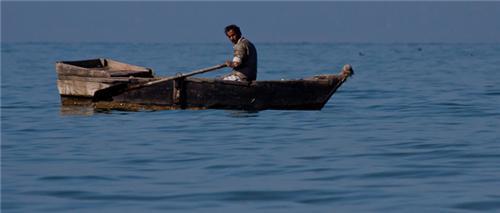 Fishing at Maharana Pratap Sagar