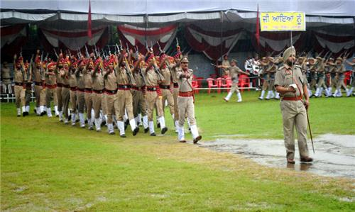 Police Force in Pathankot