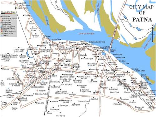 Geography of Patna